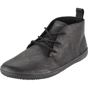 Vivobarefoot Gobi II Leather Shoes Men black-hide